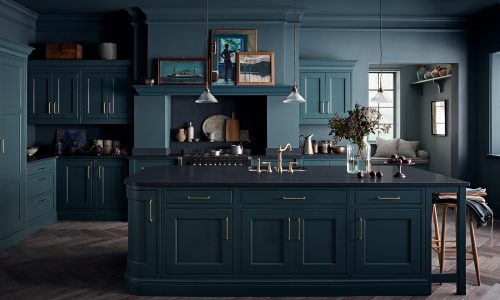 BESPOKE PAINTED WOOD KITCHENS